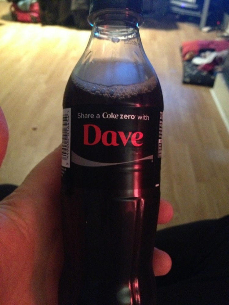 Page 136/365 : Share a Coke with...erm...
